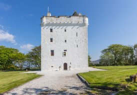 Chateau in West Kilbride, Scotland