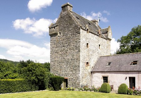 Chateau in Forest, Scotland