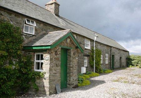 Cottage in Llangernyw, Wales