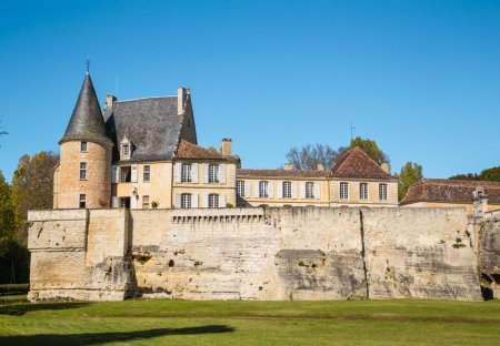 Chateau in Lamonzie-Montastruc, France