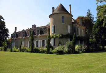 Chateau in France, Saint-Martin-de-Ribérac