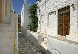 Doctor's vila's guesthouse3- Green house in Paros