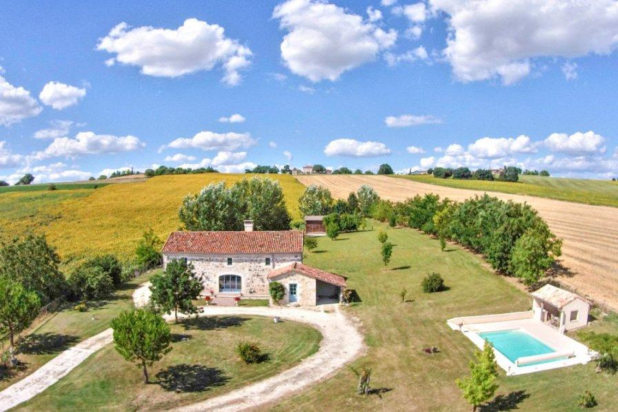 Villa in France, Moncrabeau