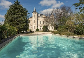 8 bedroom Chateau for rent in Laugnac