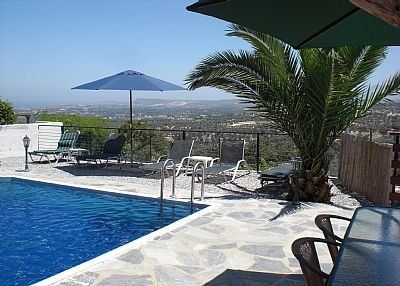 Villa in Greece, Rethymnon region: Lots of space to lounge