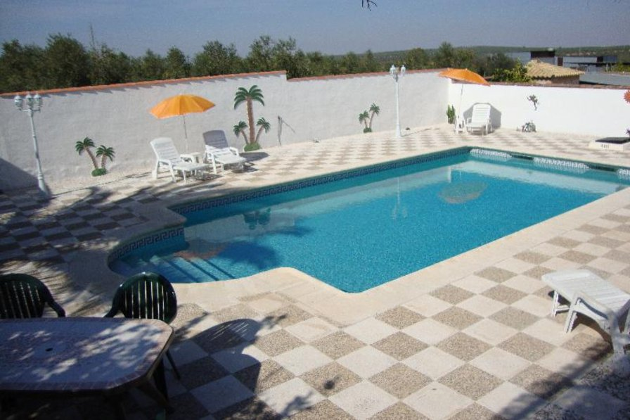 Villa in Spain, Puente Genil: Pool Area