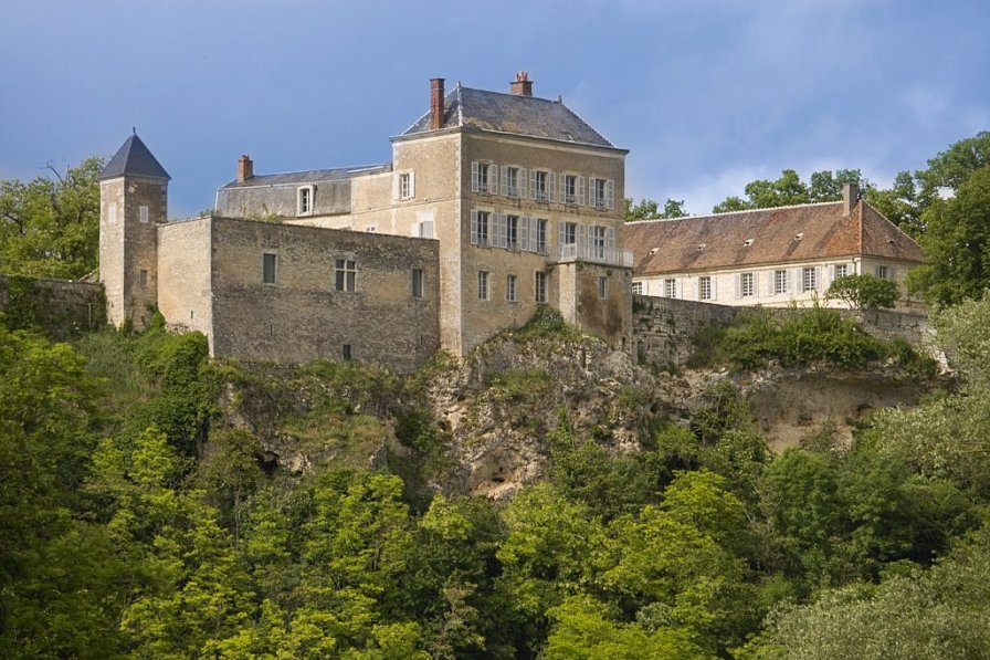 Chateau in France, Mailly-le-Château