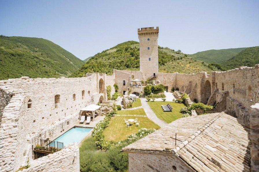 Chateau in Italy, Foligno