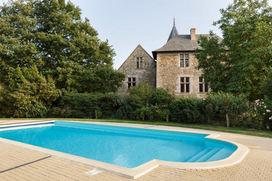 Chateau in France, Bellevigne-en-Layon