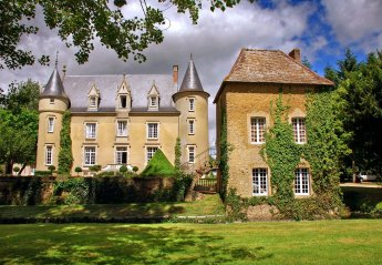 Chateau in France, Lombron