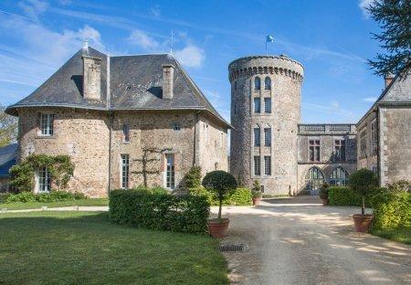 Chateau in Pouzauges, France