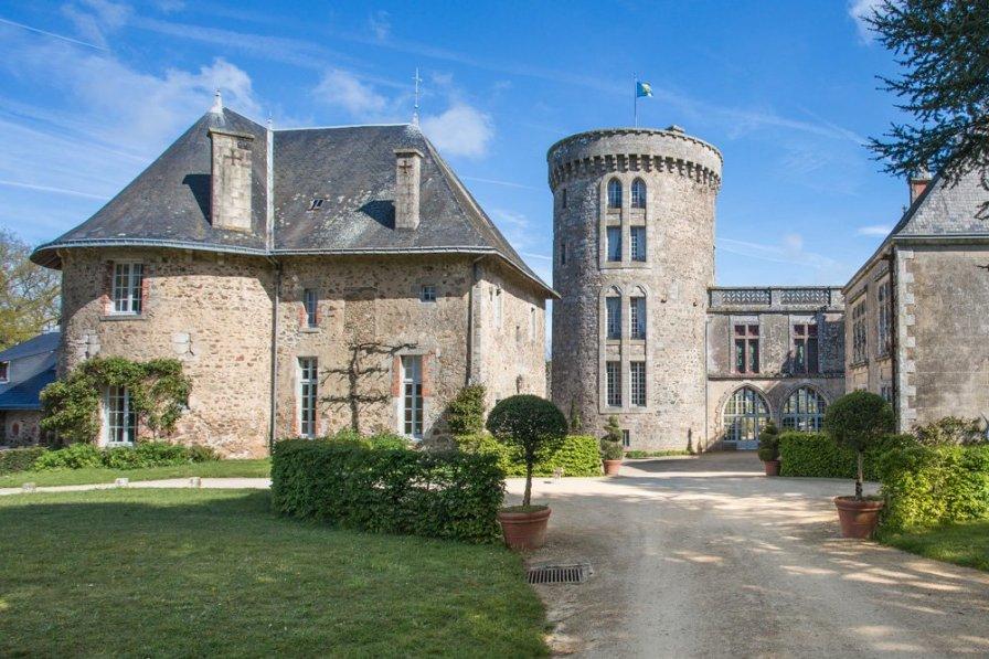 Chateau in France, Pouzauges