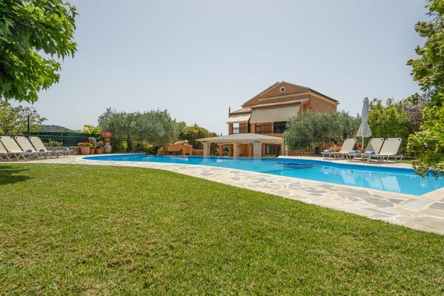 Owners abroad Villa Karoubatika