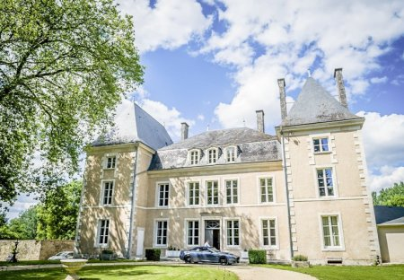 Chateau in Benest, France