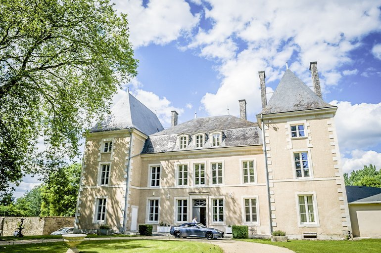Chateau in France, Benest