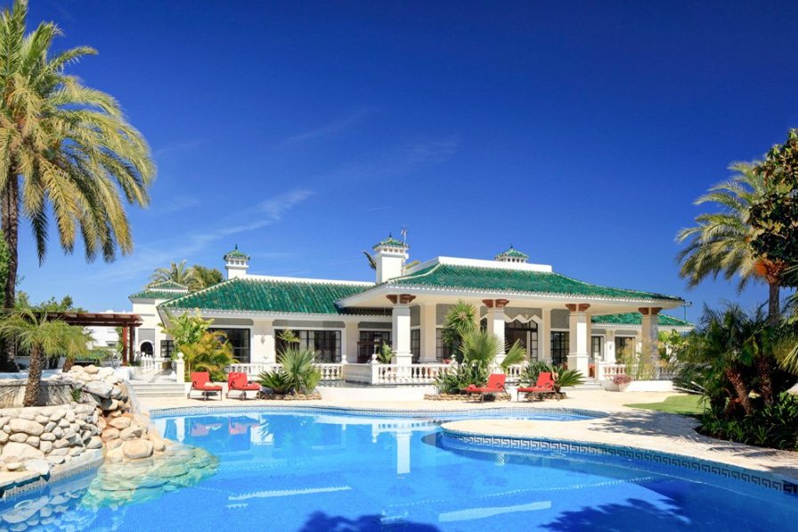 pictures of pools villa to rent in marbella spain with pool 202782 11671