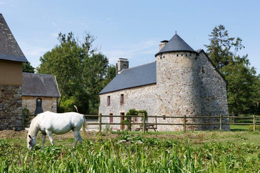 Villa in France, Doville