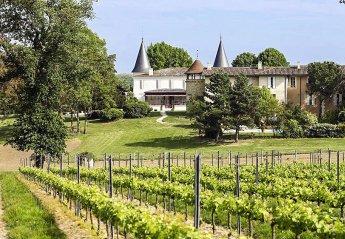Chateau in France, Lignan-de-Bordeaux