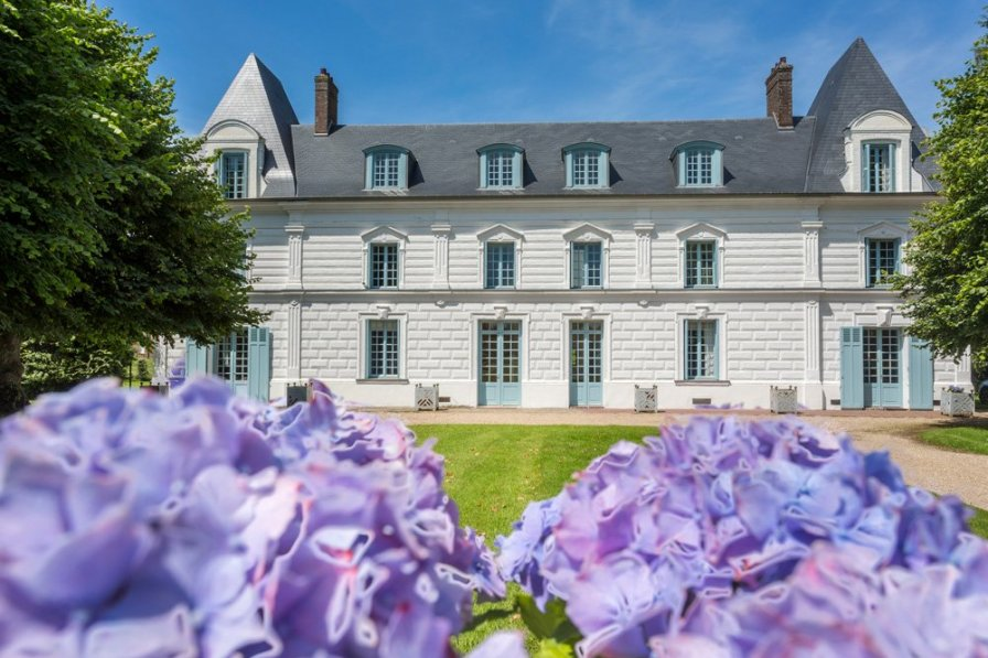 Chateau in France, Flancourt-Crescy-en-Roumois