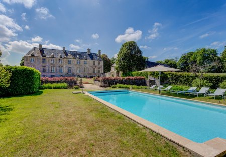 Chateau in Fontenay-sur-Mer, France