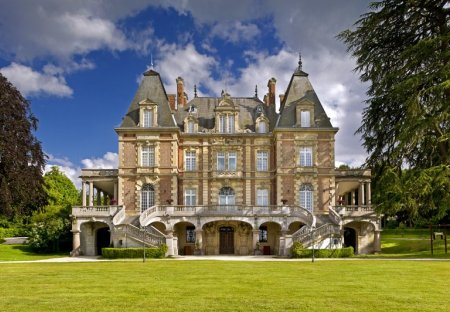 Chateau in Attainville, France