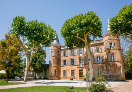 Chateau in Cotignac, the South of France