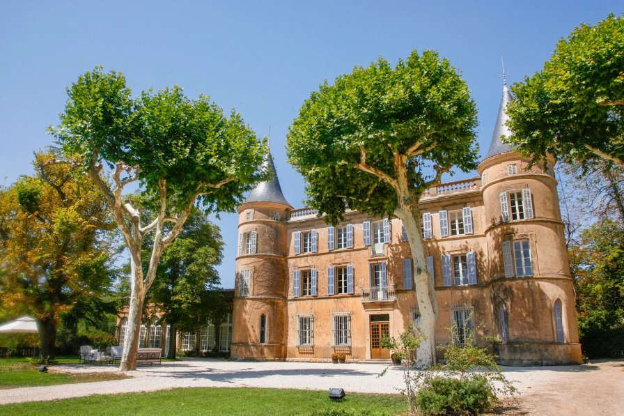 Chateau in France, Cotignac