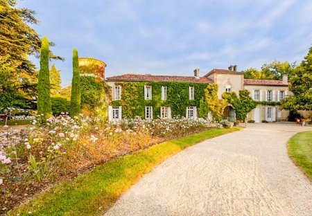 Chateau in Montréal (Gers), the South of France