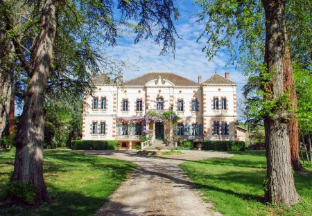Chateau in Gaillac, the South of France