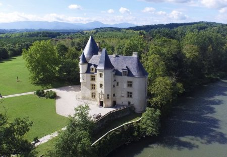 Chateau in Salies-du-Salat, the South of France
