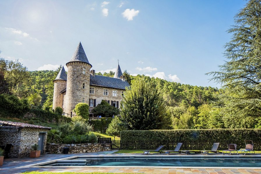 Chateau in France, Chamborigaud