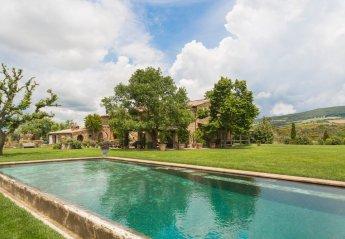 6 bedroom Villa for rent in Radicofani