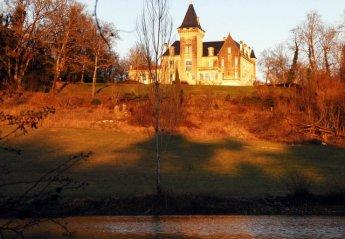 Chateau in France, Saint-Avit: bellevue