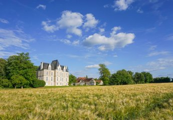 Chateau in France, Bonneuil-Matours