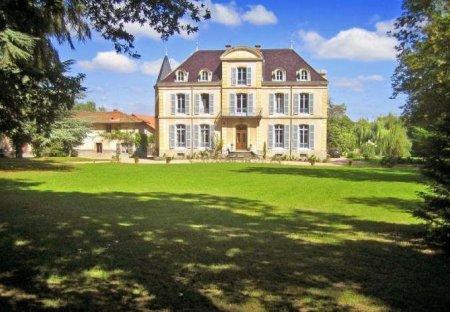 Chateau in La Pacaudière, France