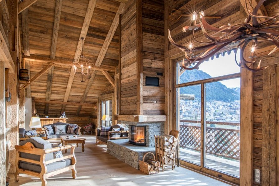 Chalet in France, Châtel