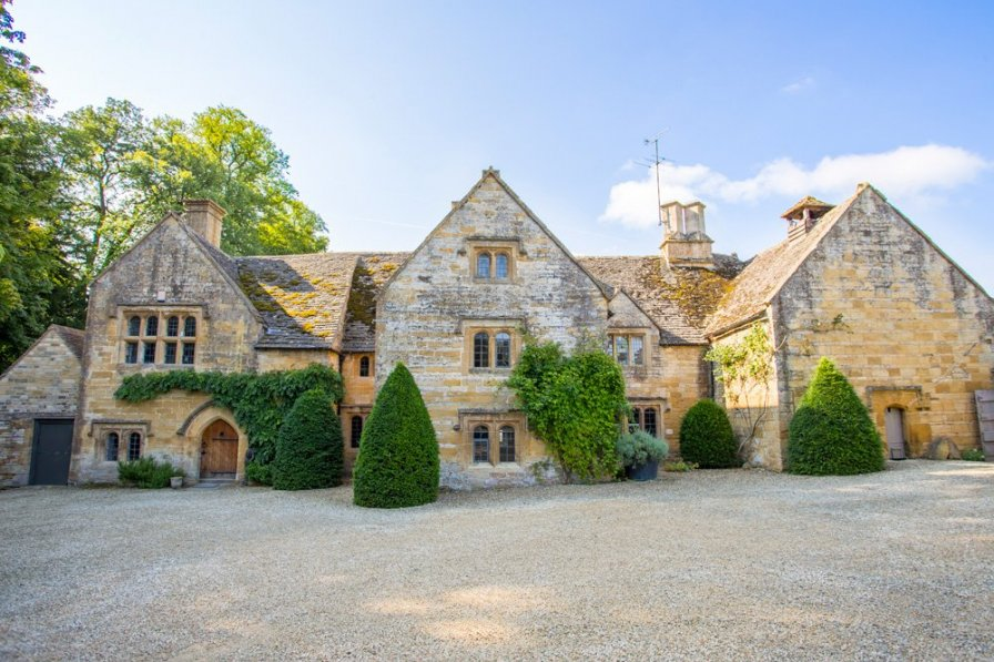 Chateau in United Kingdom, Temple Guiting