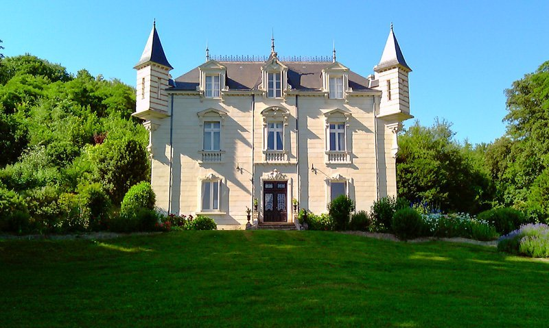 Chateau in France, Chinon