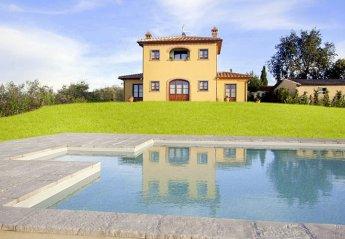 4 bedroom Villa for rent in Cortona