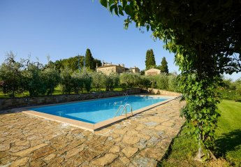 7 bedroom Villa for rent in Tavarnelle Val di Pesa