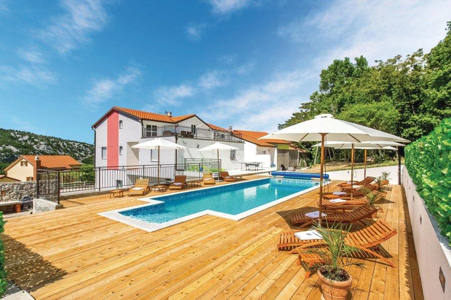 Villa To Rent In Bribir Croatia With Swimming Pool 203886