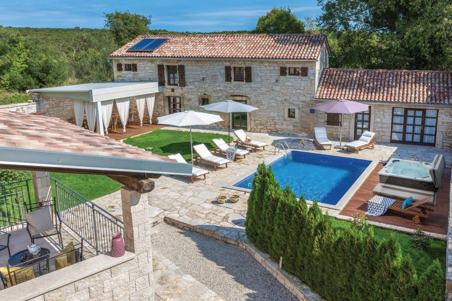 Villa in Croatia, Mrgani