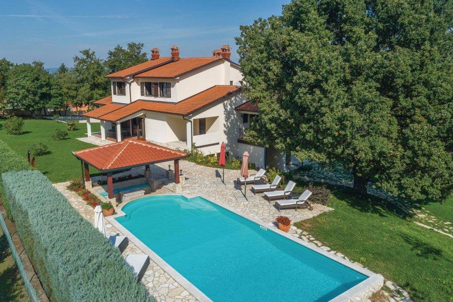 Villa in Croatia, Kršan
