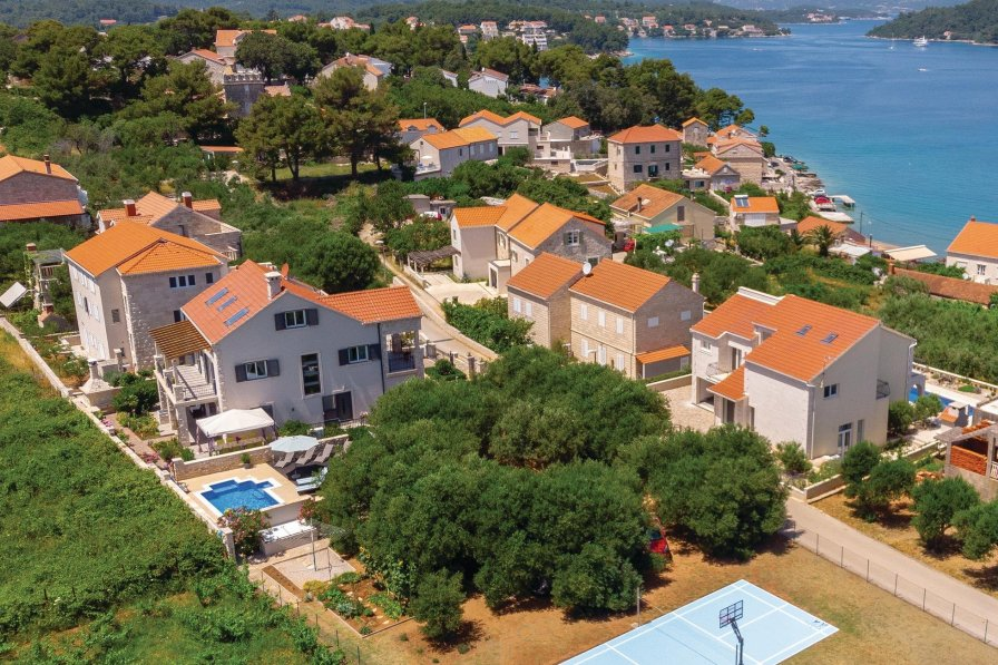 Villa in Croatia, Lumbarda