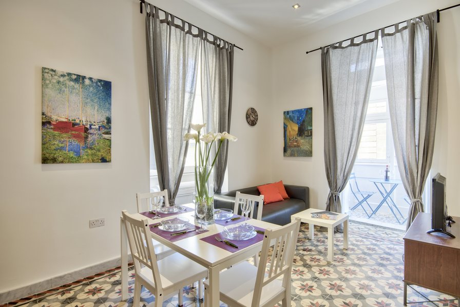 Borgo San Pawl - Valletta 1-bedroom Apartment