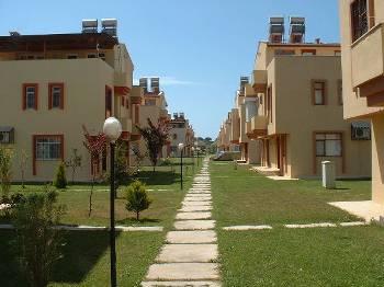 Villa in Turkey, Belek: View of Kutay Kent villas and pool