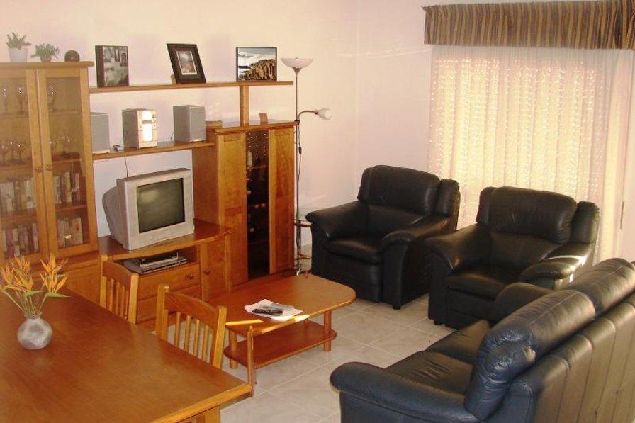Apartment in Portugal, Santa Maria (Lagos): Living Room