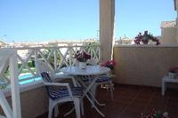 Apartment in Spain, Torrevieja Town: Spacious front balcony with pool view