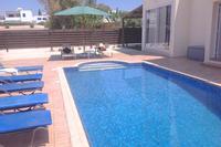 Villa in Cyprus, Ayia Thekla: large freshwater west facing pool!!!!