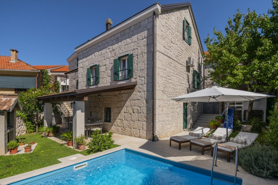 Owners abroad Villa rental in Imotski with swimming pool
